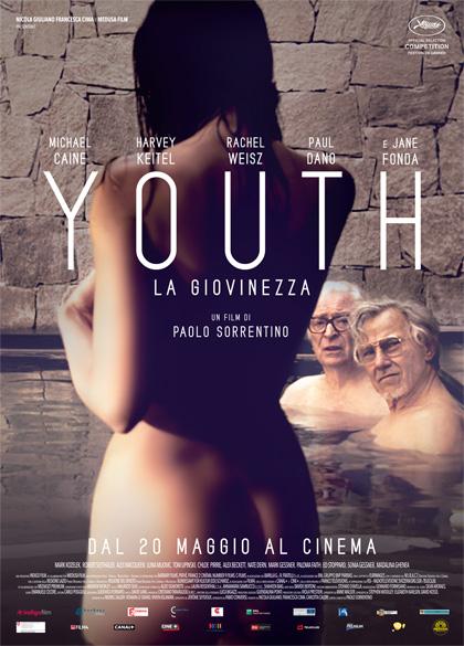 Locandina italiana Youth - La giovinezza