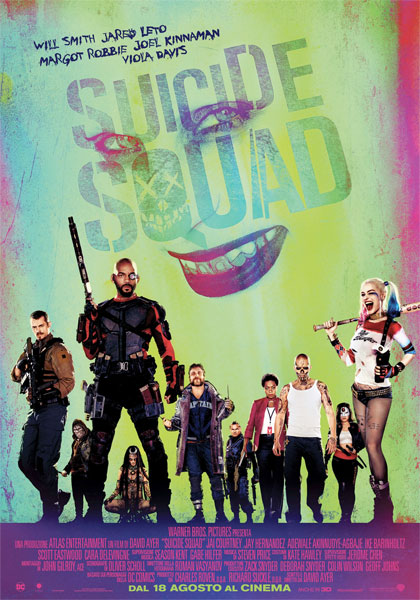 Locandina italiana Suicide Squad