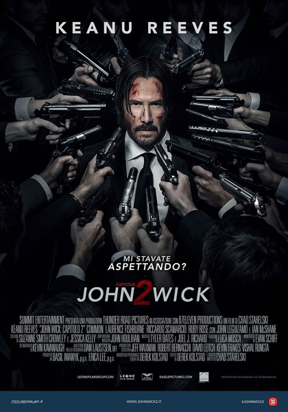 Locandina italiana John Wick - Capitolo 2
