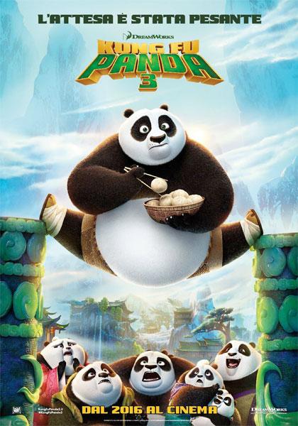 Locandina italiana Kung Fu Panda 3