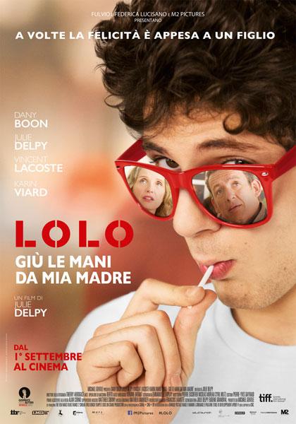 Locandina italiana Lolo - Giù le mani da mia madre