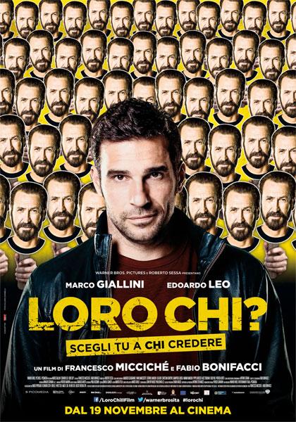 Locandina italiana Loro chi?