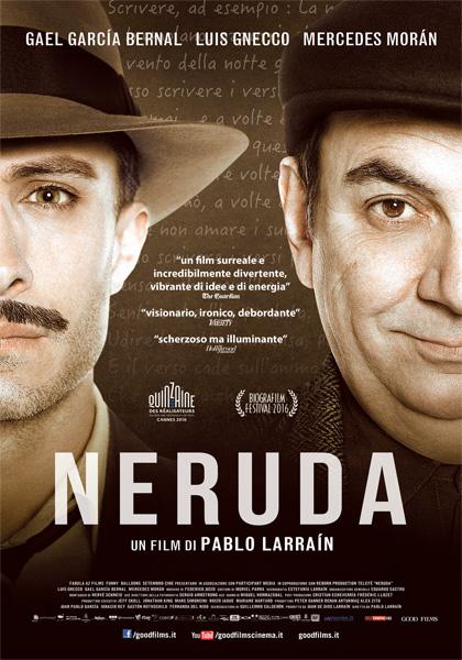 Locandina italiana Neruda