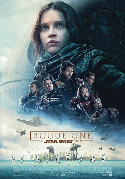Rogue One A Star Wars Story Felicity Jones Cinema