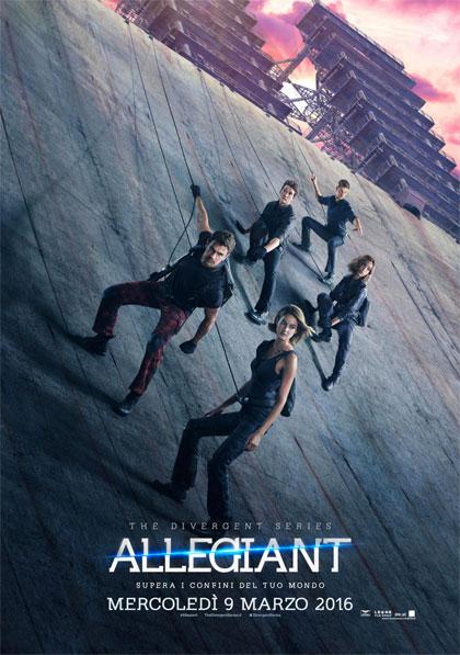 Locandina italiana The Divergent Series: Allegiant