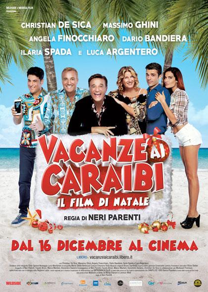 Locandina Vacanze ai Caraibi - Il film di Natale