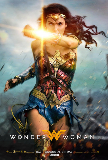 Locandina italiana Wonder Woman