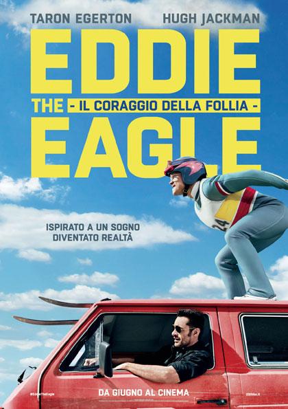 Locandina italiana Eddie the Eagle - Il coraggio della follia