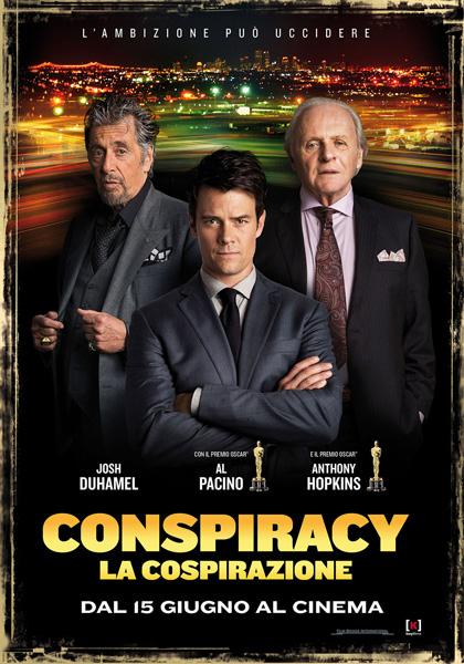 Locandina italiana Conspiracy - La cospirazione