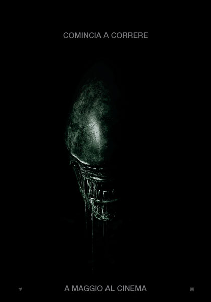 Locandina italiana Alien: Covenant