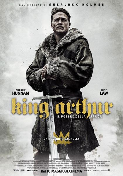 Locandina italiana King Arthur - Il potere della spada