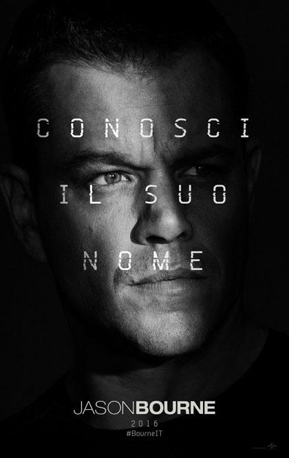 Locandina italiana Jason Bourne