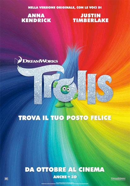 Locandina italiana Trolls