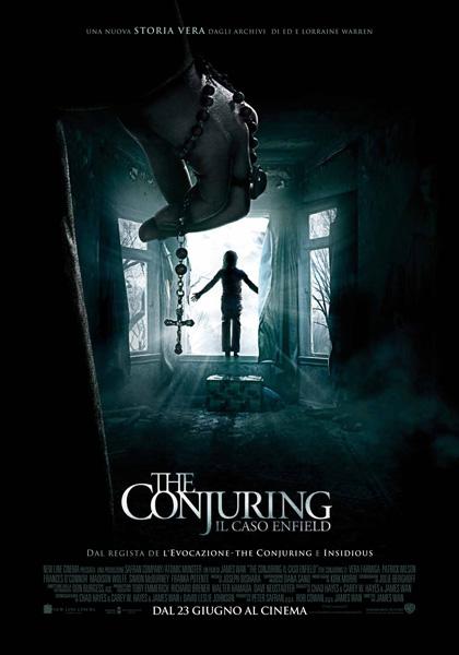 Locandina italiana The Conjuring - Il caso Enfield