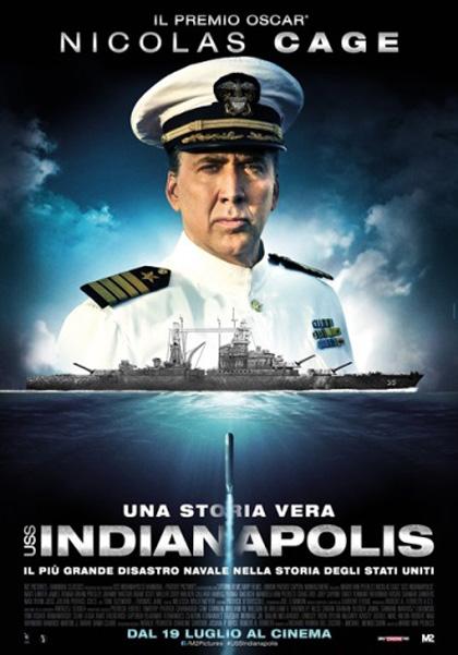 Locandina italiana USS Indianapolis
