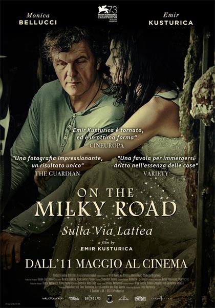 Locandina italiana On the Milky Road - Sulla Via Lattea