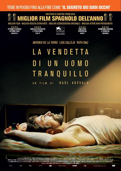 Locandina italiana La vendetta di un uomo tranquillo