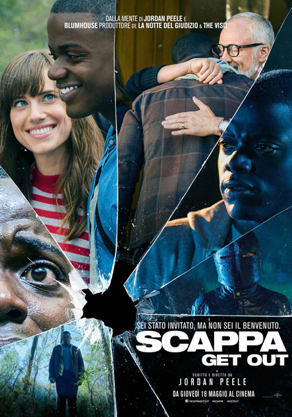 Locandina italiana Scappa - Get Out