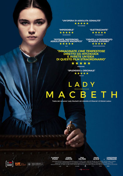 Locandina italiana Lady Macbeth