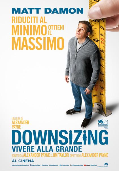 Locandina italiana Downsizing