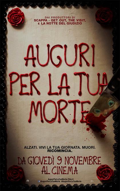 Locandina italiana Auguri per la tua morte