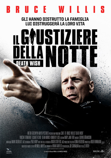 Locandina italiana Il Giustiziere della Notte