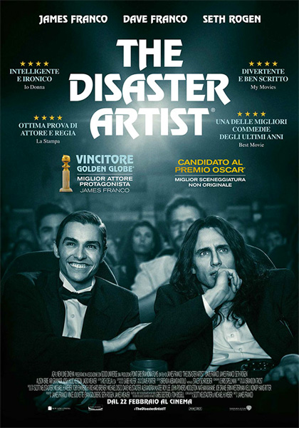 Locandina italiana The Disaster Artist