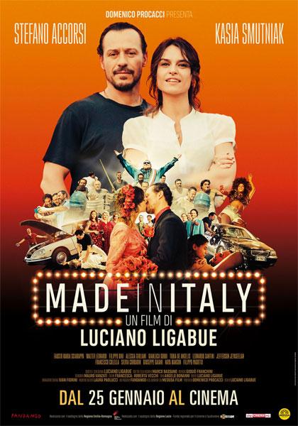 Locandina italiana Made in Italy
