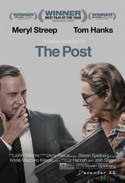 Risultati immagini per THE POST ( 2017 ) POSTER