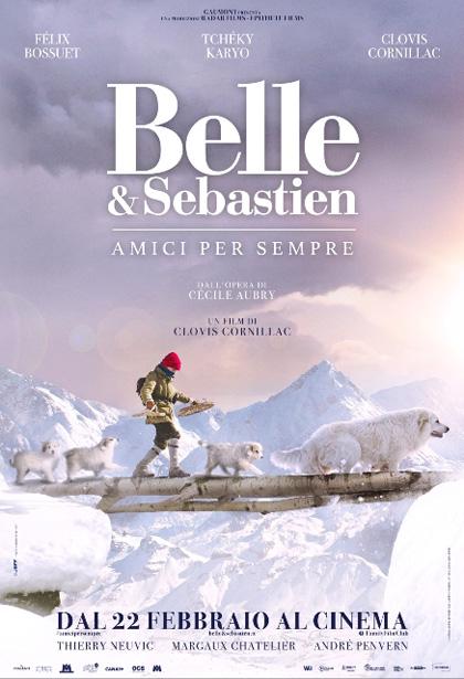 Locandina italiana Belle & Sebastien - Amici per sempre