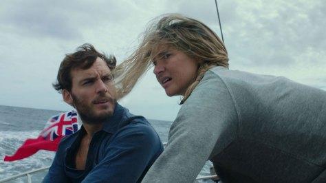 Shailene Woodley & Sam Claflin in Adrift