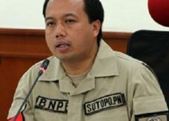 Kepala Pusat Data Informasi dan Humas BNPB, Sutopo Purwo Nugroho.
