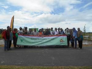 Ormas Pergerakan Indonesia Sumbar mendeklarasikan diri. (derius)