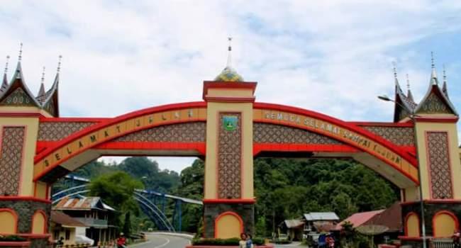 Gerbang Kota Padangpanjang. (Humas)