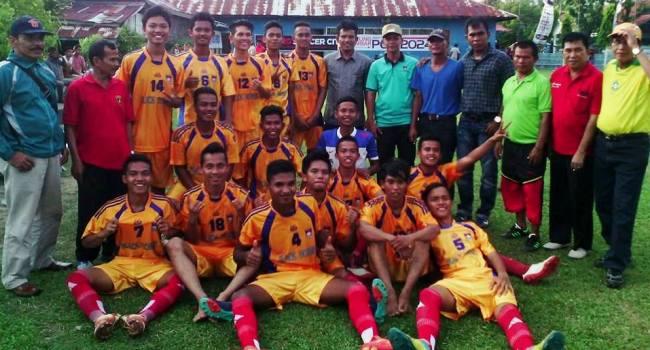 Tim Kesebelasan Padang Timur. (baim)