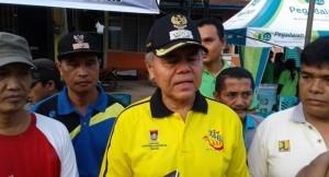 Wakil Walikota Padang Emzalmi. (derius)
