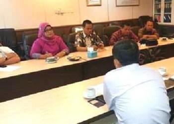 Kunker Komisi II DPRD Padang ke KKP. (ist)