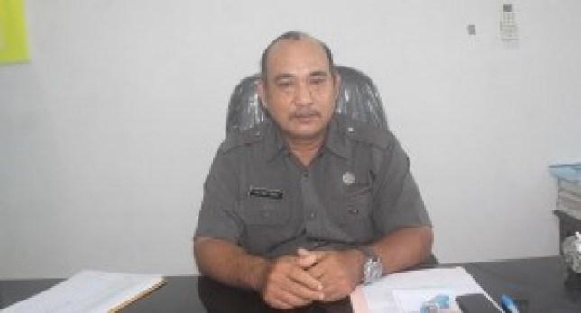 Kepala Dinas Sosial Tenaga Kerja Mentawai, Paulinus Sabelepangulu. (ers)