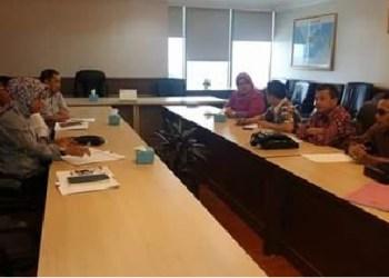 Hearing Komisi II dengan Dirjen Perikanan Tangkap KKP. (baim)