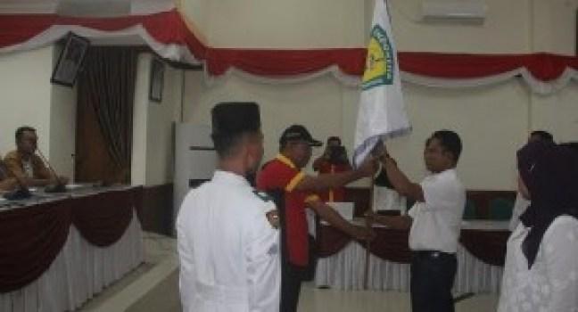Pelantikan pengurus PASI Kab.Kepulauan Mentawai, Sabtu (11/6). (ers)