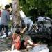 Lokasi kecelakaan Daihatsu Grand Max di Simpang Koto Gadang Kecamatan Tanjung Raya, Agam, Rabu (27/7). (fajar)