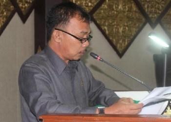 Anggota DPRD Padang, Jumadi. (baim)