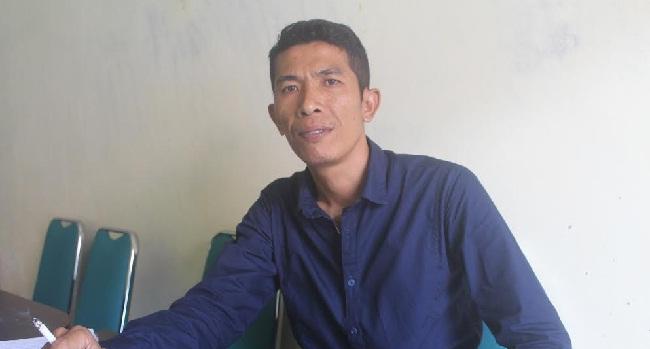 Ketua KPUD Mentawai, Laurensius Sarogdok.(ers)