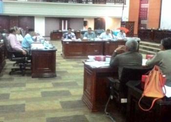 Rapat dengar pendapat Komisi IV DPRD Sumbar dengan mitra kerja, Selasa (15/11). (febry)