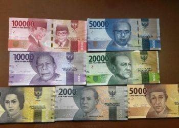 Uang Kertas desain baru. (BI)
