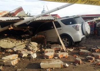 Gempa di Pidie Aceh, Rabu (7/12) pagi. (foto: pmi banda aceh)