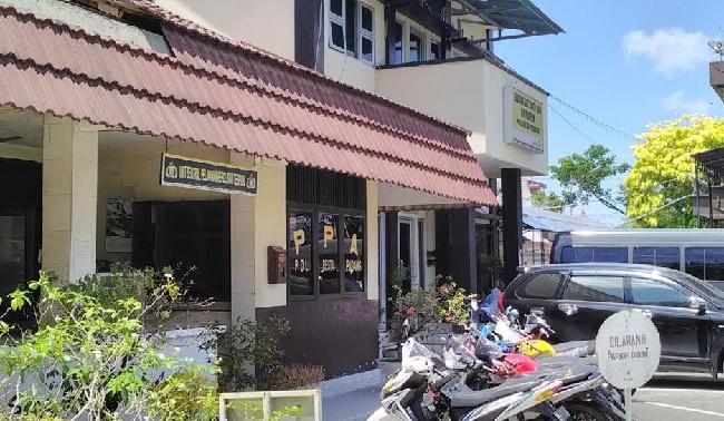 SPK Mapolresta Padang. (ist)