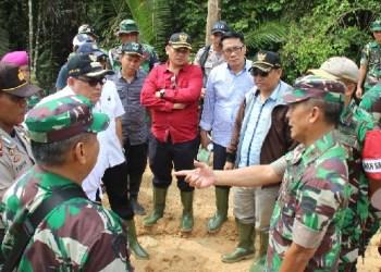 Kunjungan Danrem Wirabraja ke Mentawai. (ers)