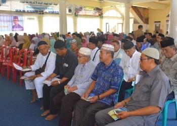 Calon Jemaah Haji Kota Padangpanjang. (ist)