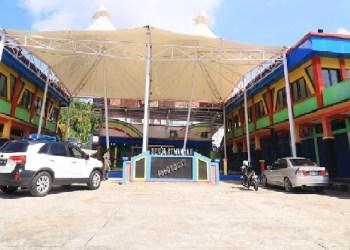 Pasar Sentra Organik di Kota Padangpanjang. (foto: humas)
